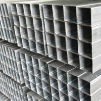 Cheap China factory price Furniture Square Tube with Galvanized Surface for sale