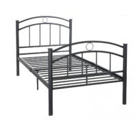 China 700 Mm Height Iron Steel School Furniture Bed Base Strong Structure Black Color on sale