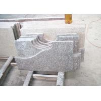 Cheap Granite Bathroom Vanity Countertops Slabs Polished / Flamed Finish for sale