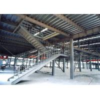 Cheap Heavy Pre Engineered Prefabricated Steel Stairs Earthquake Proof Energy Saving wholesale