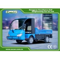 Buy cheap Blue color Curtis AC controller Trojan battery Electric Utility Vehicle cart from wholesalers