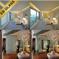 Cheap Electrical privacy smart pdlc film, eb glass for sale
