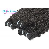 """Cheap Wet And Wavy 7A 18"""" 20"""" Indian Virgin Human Hair with Full Cuticles Intact for sale"""