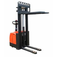 Cheap Semi electric stackers electric warehouse forklift trucks best selling type for sale
