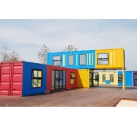 China Topshaw Factory Direct Luxury Movable Prefabricated House Shipping Prefab Container Office on sale