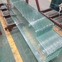 Cheap Jumbo Size Low Iron starfire ultra clear Tempered Safety Glass for commercial building Exterior walls for sale