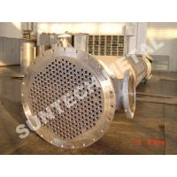 Cheap Shell Tube Heat Exchanger Chemical Process Equipment 1.6MPa - 10Mpa for sale