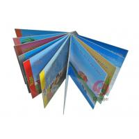 Cheap Die cutting 4C / 4C 157GSM chrome paper English story Custom Childrens Book Printing for sale
