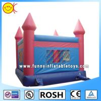 Cheap Rectangle Outdoor Inflatable Bouncy Castle Water Proof Sewing for sale
