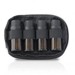 Nylon Essential Oil Storage Case 2 Bag Set With 4 Bottle Keychain Case