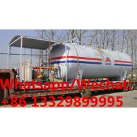 China customized 50,000Liters skid propane gas station with 4 electronic filling scales for sale, mobile skid lpg gas plant on sale