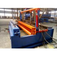 Cheap Grid Crimped Chain Link Fence Machine , Mesh Welding Machine 3.0kw Power for sale