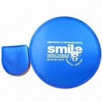 Cheap Foldable Flying Disc, Made of Nylon for sale