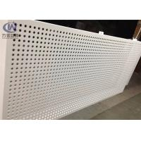 Cheap 1220*2440mm Round Hole Bending Perforated Aluminum Sheet Metal for Inner Decoration for sale