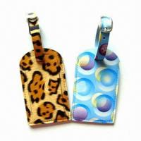Cheap Personal Decoration Luggage Tags with Nominal Quotation, Made of Plastic for sale