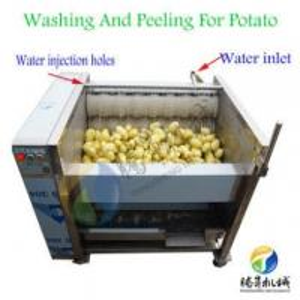 Cheap Sweet potato peeling washing machine/taro peeler and washer machine vegetables and fruits potato peeler for sale