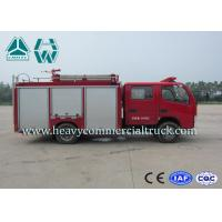 Dongfeng 2 Tons 290 Hp Water Tank Fire Truck For Fire Control Or Sprinkling