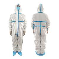 Cheap Polypropylene Non Woven Waterproof Isolation Gown Single Use Non Irritating for sale