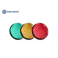 Cheap High Efficiency Traffic Light LED Module , Traffic Signal LED Lights With 200mm Cobweb Lens for sale