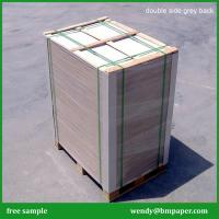 Cheap Recycled pulp 1.5mm thick paper uncoated grey board/grey carton board for sale