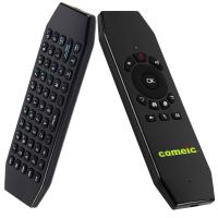 China Wireless Air Mouse Remote Keyboard T5 With IR Learning Function on sale