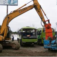 China hydraulic shear for sale /china brand excavator attachments manufacturer-beiyi machine on sale