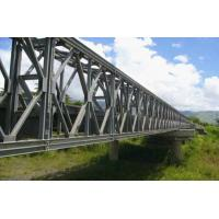 Buy cheap Assembly Steel Bailey Bridge deck truss Concrete Deck , Galvanized  from Wholesalers