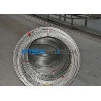 Cheap S31700 / TP317 12.7mm Seamless Coiled Stainless Tube For Hater Tubing Line for sale