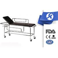 Cheap Hospital Ambulance Equipment Patient Stretcher Trolley Artifical Leather for sale