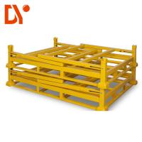 Cheap Warehouse Stackable Pallet Racks Yellow Color For Storage / Stacking for sale