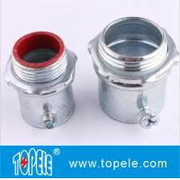 Cheap Steel Material EMT Conduit And Fittings EMT Compression Insulated Connector wholesale