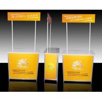 Cheap Aluminum Promotional Display Counter High Resolution Digital Printing for sale