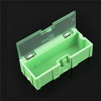 China Durable Green SMD Storage Box , Plastic Electronic Components Box on sale
