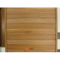 China Carving PVC Veneer MDF CARB2 Modern Interior Sliding Doors MDF Board on sale