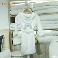 Cheap 5 Star Hotel Quality Bathrobes / Girls Soft Robe Fit Spring And Autumn for sale