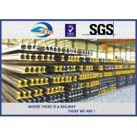 Cheap GB Standard P50KG GB50 Railway Steel Crane Rail According GB2585-2007 TUV for sale