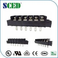 China Flange Small Terminal Blocks 7.62mm 14 - 22 AWG Power Connector on sale