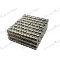 "Cheap Cylinder Permanent Neodymium  Magnet 3/4dia x 3/8"" thick For Electric Products for sale"