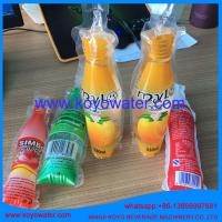 Cheap carbonated soft drink making machine/plastic bottle shape pouch soft drink packaging machine/mini bag drink filling mach for sale