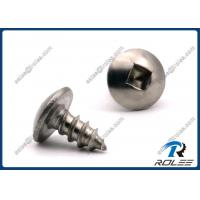 China Passivated Stainless Steel 410 Square Drive Truss Head Sheet Metal Screws on sale