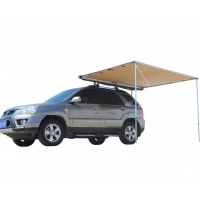 Cheap 420D Polycotton  Camping Free Standing Offroading Car Gear Awning for sale