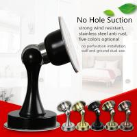 China 201 Stainless Steel Door Fittings / Magnetic Door Holder With No Hole on sale