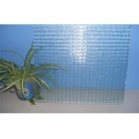 Cheap Wire Pattern Decorative Glass Panels Heat Resistance For Showcase for sale