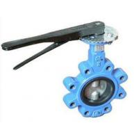 Cheap DN 100 PN 16 water butterfly valves SS Body By Lever Operated And Seat is EPDM for sale