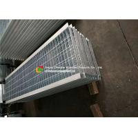 Cheap Angle Bar Welded Steel Grating , Reinforced Concrete Areas Heavy Duty Bar Grating for sale