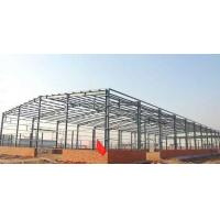 Cheap Lightweight Steel Frame Building / Fabrication Steel Structure Warehouse for sale