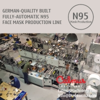 Cheap German-Quality Built N95 Respirator Mask Making Machine Production Line for sale