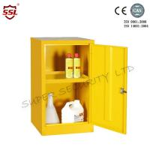 Cheap Adjustable Shelves 10 Liter Hazardous Storage Cabinet Metal  Lockable for sale
