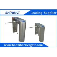 Cheap Uni-Direction / Bi-Direction Electrical Tripod Turnstile Gate With Card Reader for sale