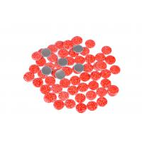 Quality Lead Free Loose Hotfix Rhinestones Glass Material 12 / 14 Facets With Multi Colors wholesale